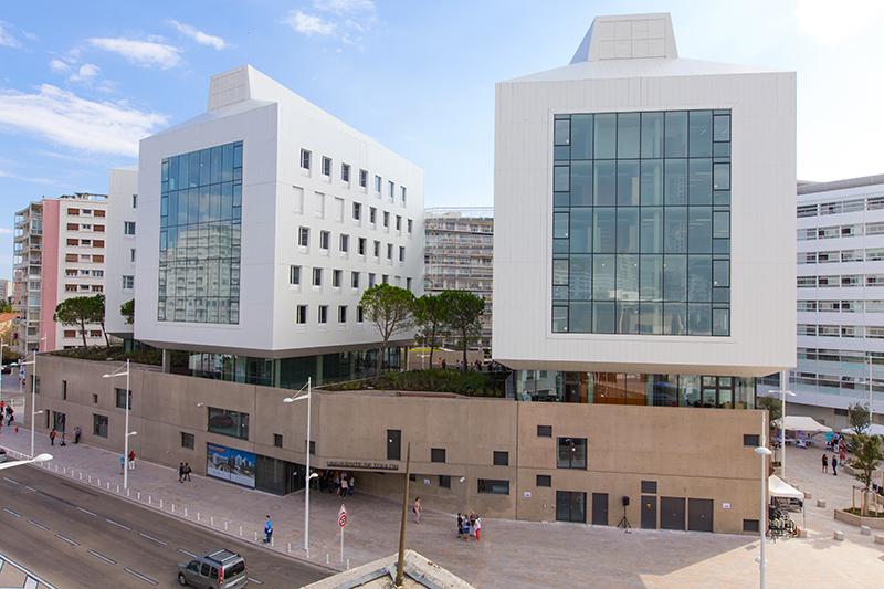 le campus de toulon porte d italie inaugur universit de toulon. Black Bedroom Furniture Sets. Home Design Ideas