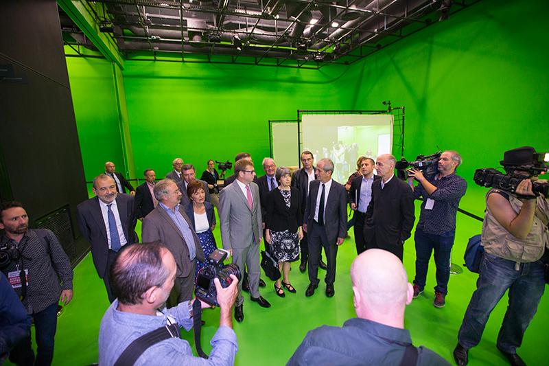 Inauguration du nouveau cus porte d'italie